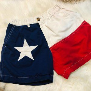 Chubbies Texas Red White Blue Shorts Mens Flag